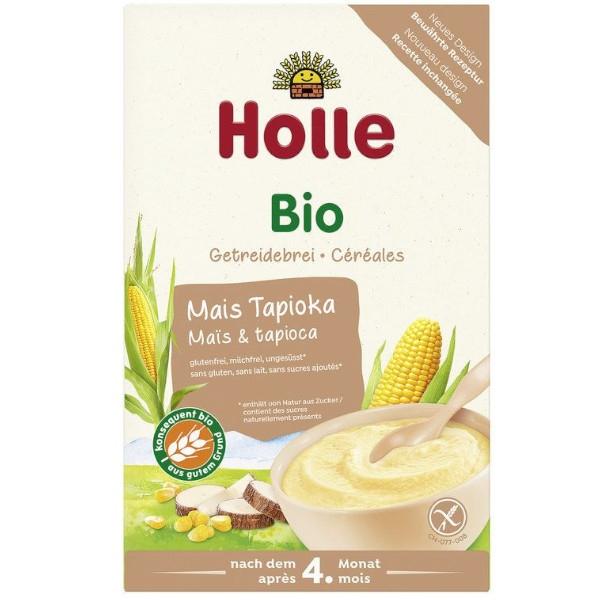 Βιολογική Παιδική Κρέμα με Kαλαμπόκι & Ταπιόκα Bio 250γρ., Holle