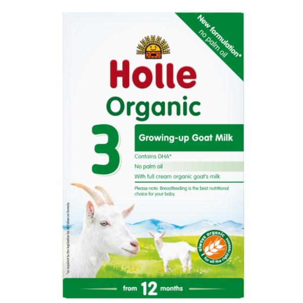 Holle Βιολογικό Βρεφικό Κατσικίσιο Γάλα 3 Bio 400γρ.
