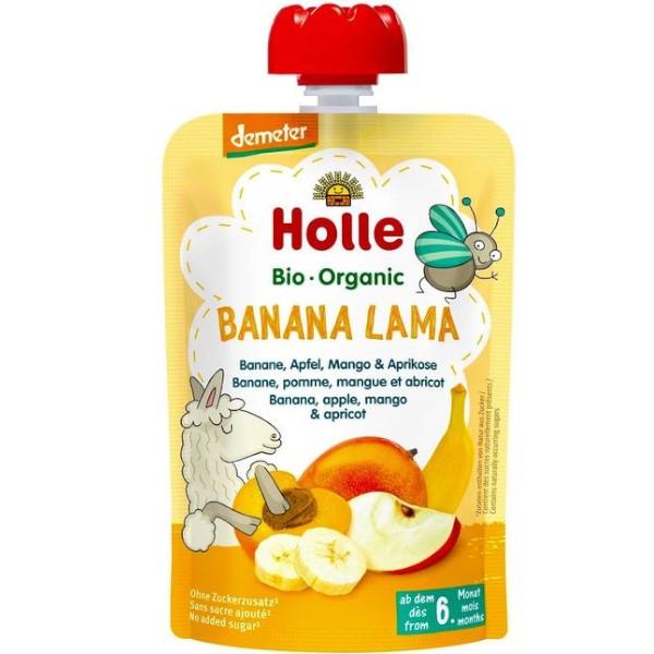 Βιολογικός Πουρές από Μήλο Μπανάνα & Μάνγκο Bio 90γρ., Holle