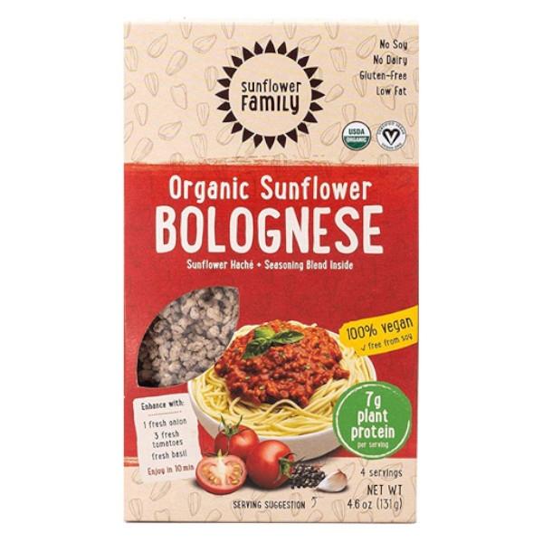 Βιολογικός Κιμάς Ηλιόσπορου Bolognese, Bio, 130γρ, Sunflower Family