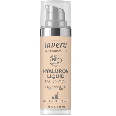 Υγρό Make-up Hyaluron No1, 30 ml, Bio, Lavera