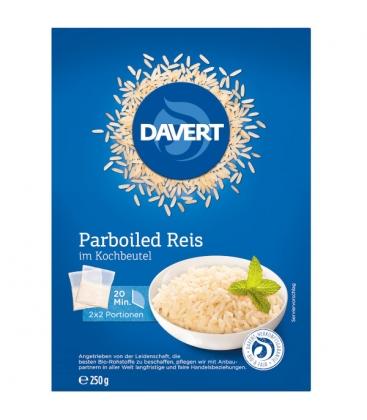Ρύζι Parboiled σε σακκουλάκι βρασμού