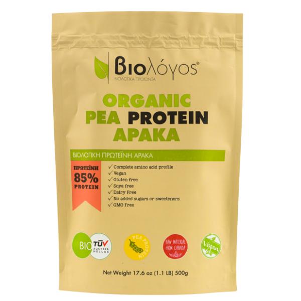Βιολογική Πρωτεΐνη Αρακά, 500γρ., Bio, ΒΙΟΛΟΓΟΣ