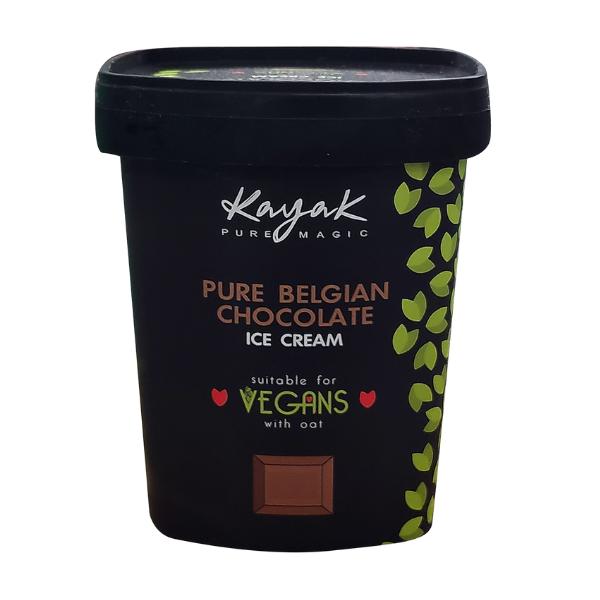 Παγωτό Σοκολάτα Βελγίου Vegan, 500ml, Kayak