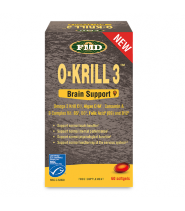 O'KRILL BRAIN SUPPORT 60CAPS UDO'S