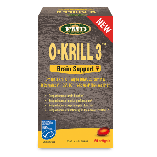 O'KRILL BRAIN SUPPORT 60CAPS UDO'S