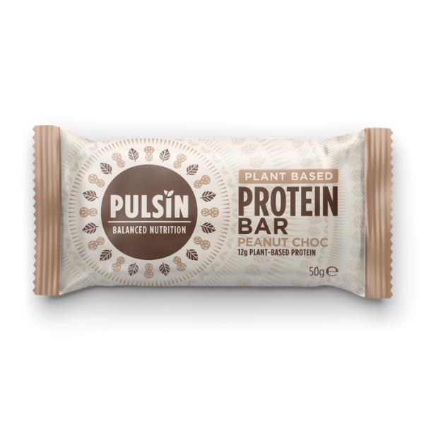 Μπάρα Πρωτεΐνης με Σοκολάτα και Φυστίκια, 50γρ., Pulsin