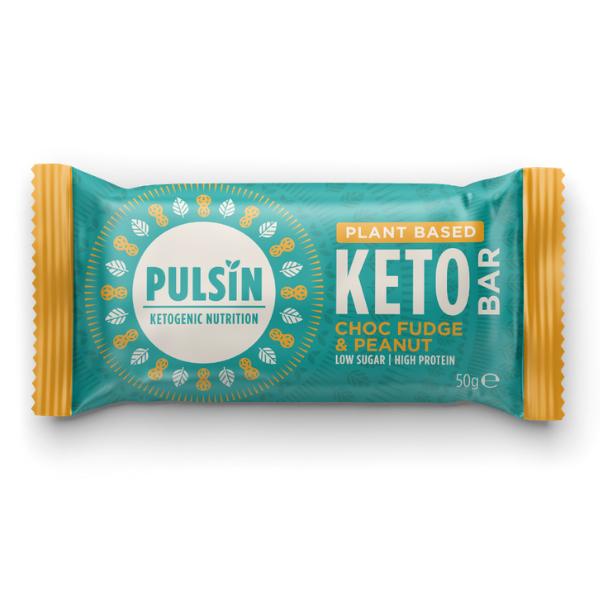Μπάρα Πρωτεΐνης Σοκολάτα και Φυστίκια Κeto, 50γρ., Pulsin