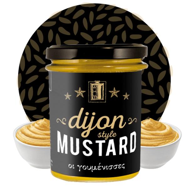 Μουστάρδα Dijon Style, 210γρ., Γουμένισσες