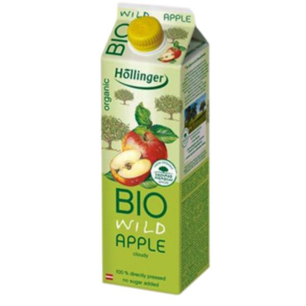 Βιολογικός Χυμός Μήλου, 1lt, Bio, Hollinger