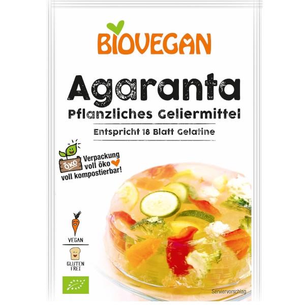 Βιολογική Φυτική Ζελατίνη Αγάρ - Αγάρ, 18γρ., Bio, Biovegan