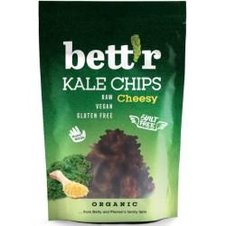 Βιολογικά Τσιπς Λαχανίδας με Γεύση Τυριού, 30 γρ., Bio, Vegan, Bettr