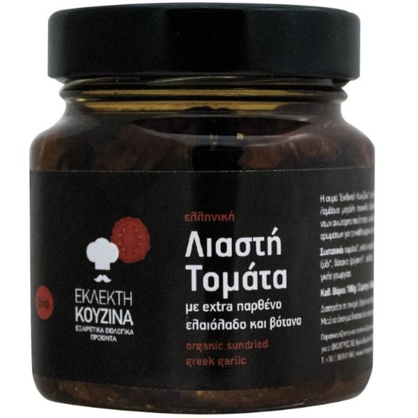 Βιολογική Λιαστή Τομάτα σε Βάζο, Bio, 200 γρ., Εκλεκτή Κουζίνα