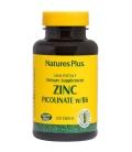 Zinc Picolinate 120 Ταμπλέτες, Natures Plus