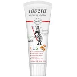 Lavera Παιδική Οδοντόκρεμα (χωρίς φθόριο) Φράουλα - Βατόμουρο 75ml, Βιολογική