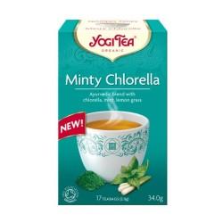Τσάι Minty Chlorella, 17 Φακελάκια, 34 γρ., Bio, Yogi Tea