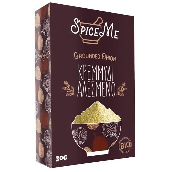 Βιολογικό Κρεμμύδι σε Σκόνη, 30γρ., Bio, Spice Me
