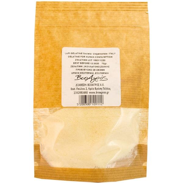 Ζελατίνη Κολλαγόνου, 70 γρ., Lapi Gelatine