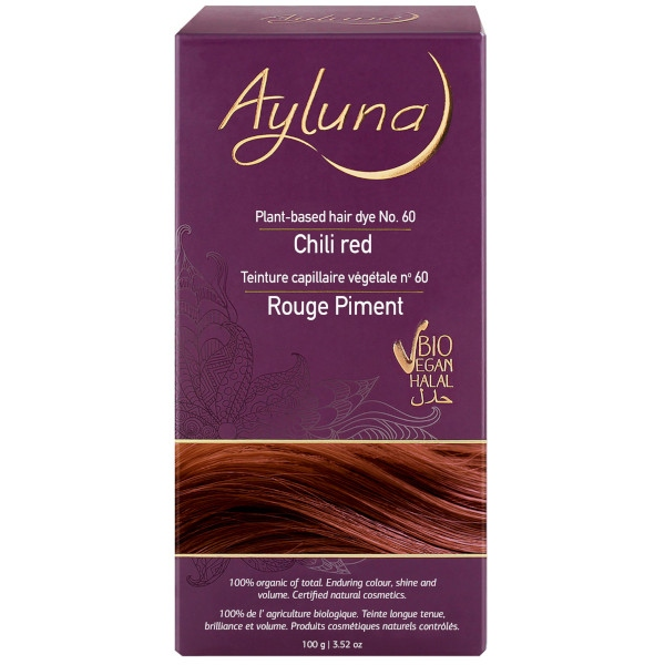 Βαφή Μαλλιών 100 γρ., Chili Red, Βio, Ayluna