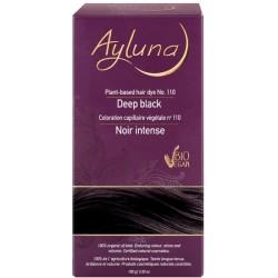 Βιολογική Βαφή Μαλλιών Deep Black 100 γρ., Bio, Ayluna