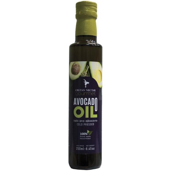 Βιολογικό Λάδι από Αβοκάντο, 250 ml, Βio, Kretan Nectar