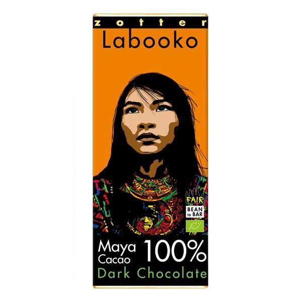 ΣΟΚΟΛΑΤΑ 100% MAYA CACAO LABOOKO