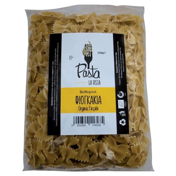 Βιολογικό Φιογκάκι, 500 γρ., Βio, Pasta La Vista