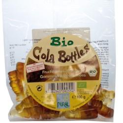 Βιολογικά Ζαχαρωτά με Γεύση Φρούτων Cola Bootles 100γρ., Bio, Pural