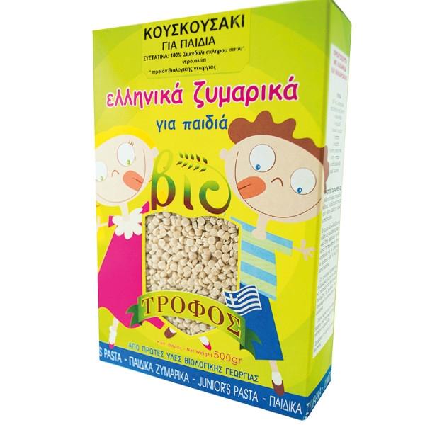 Βιολογικό Παιδικό Κουσκουσάκι, 500γρ., Ελληνικό, Bio, Βιοτροφός
