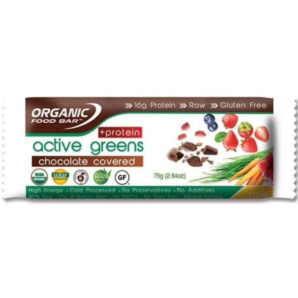 Βιολογική Μπάρα Πρωτεΐνης με Σοκολάτα, Χωρίς Γλουτένη, 68γρ., Bio, Active Greens