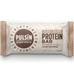 Μπάρα Πρωτεΐνης Peanut Choc, 50 γρ., Bio, Pulsin