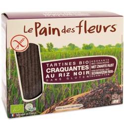 Βιολογικά Τραγανά Κράκερς από Κστανό Ρύζι,150 γρ., Bio, Le Pains Des Fleurs
