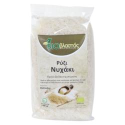 Βιολογικό Ρύζι Νυχάκι Λευκό, 500 γρ., Bio, Βιοβλαστός