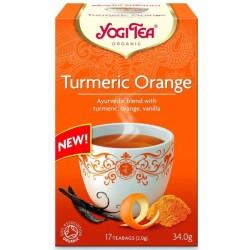 Τσάι με Κουρκουμά & Πορτοκάλι, 34 γρ., Bio, Yogi Tea