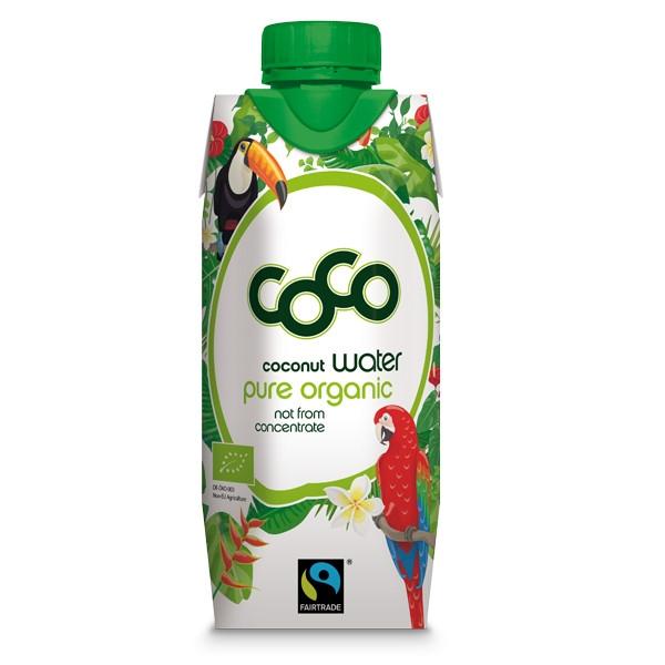 Βιολογικό Νερό Καρύδας Coco, 330ml, Bio, Dr. Martins