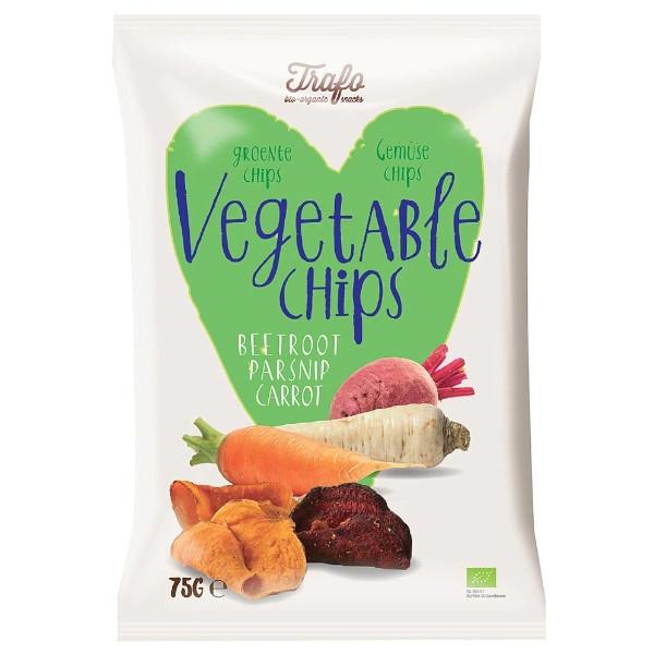 Βιολογικά Τσιπς Λαχανικών, 75 γρ., Bio, Trafo
