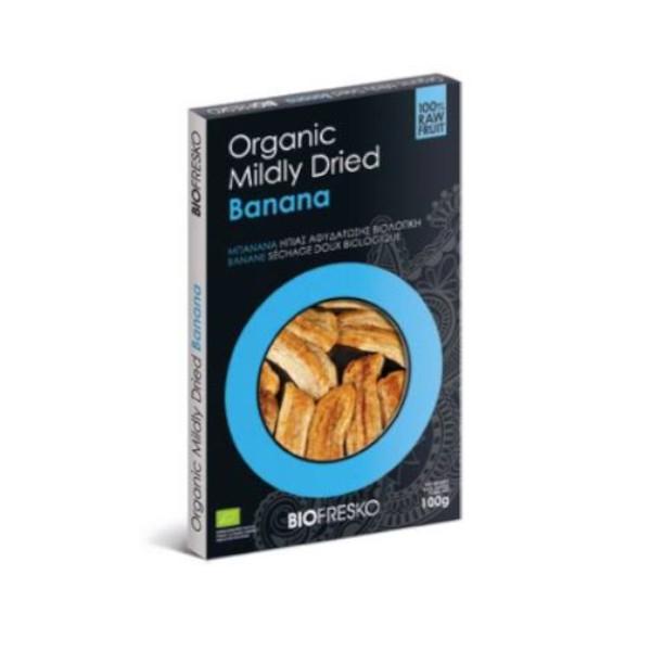 Βιολογική Μπανάνα Ήπιας Αφυδάτωσης Bio 100γρ., Ελληνική, Βιοφρέσκο