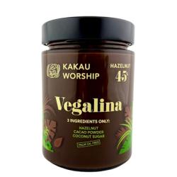 Βιολογική Πραλίνα Φουντουκιού Vegalina, 350 γρ., Bio, Kakau