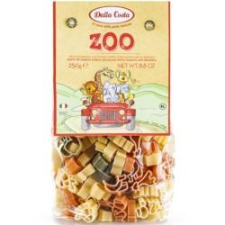 Τρίχρωμα Ζυμαρικά Zoo, 250 γρ., Dalla Costa