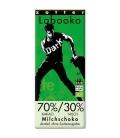 Βιολογική Σοκολάτα Γάλακτος 70% Χωρίς Ζάχαρη Bio 70γρ Labooko Zotter