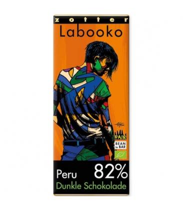 Βιολογική Σοκολάτα Υγείας Περού 82% Bio 70γρ Labooko Zotter