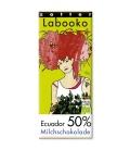 Βιολογική Σοκολάτα Γάλακτος 50% Bio 70γρ Labooko Zotter