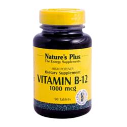 Βιταμίνη B-12 Κοβαλαμίνη 30 Παστίλιες 1000mcg., Nature's Plus