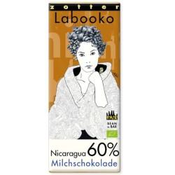 Βιολογική Mαύρη Σοκολάτα 100% 2x35γρ., Peru Labooko Zotter