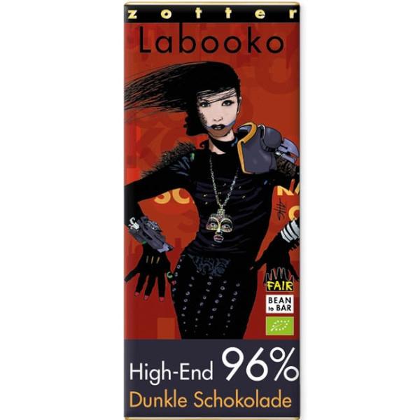 Βιολογική Σοκολάτα Υγείας 96% Bio 65γρ Labooko Zotter
