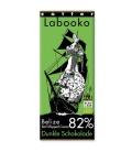 Βιολογική Σοκολάτα Υγείας Belize 82% Bio 70γρ Labooko Zotter