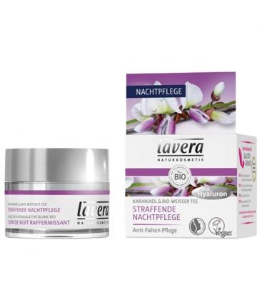 Βιολογική Συσφιχτική Κρέμα Νυκτός με Έλαιο karanja και Βιολογικό Άσπρο Τσάι 30ml, Lavera