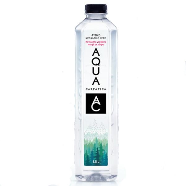 Φυσικό Μεταλλικό Νερό,1500 ml, Capratica