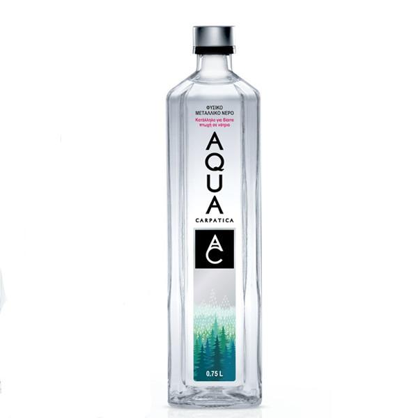 Φυσικό Μεταλλικό Νερό, 750 ml, Carpatica