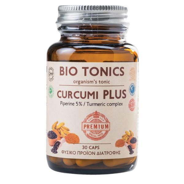 Curcumi Plus, 60 κάψουλες, Bio, Bio Tonics